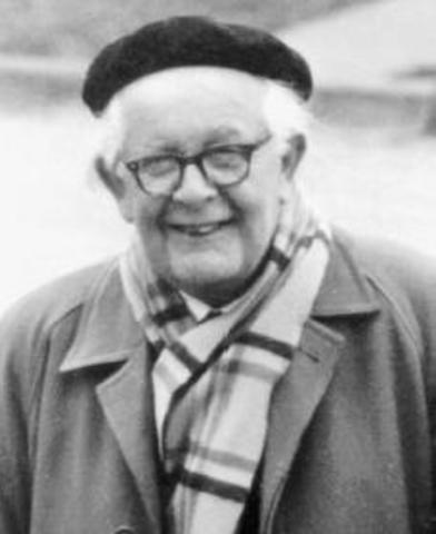 Fallecimiento de Jean Piaget
