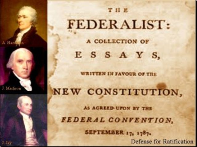 Federalists Papers appear