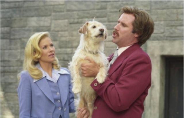Baxter saves Ron