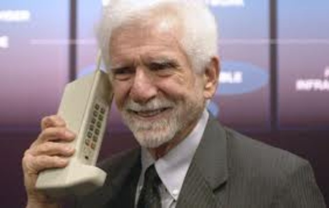 Martin Cooper the cell phone inventor!