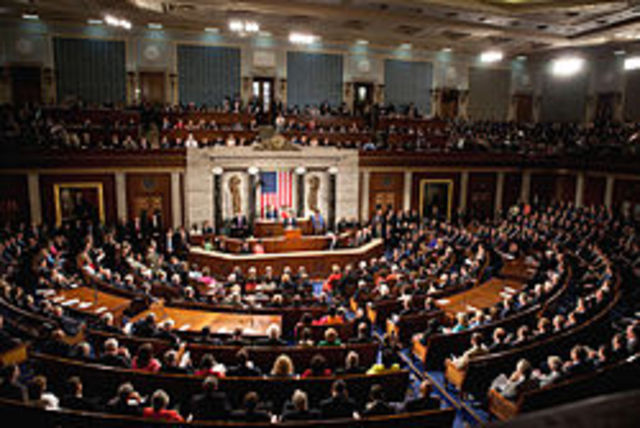 Congress meets for the 1st time