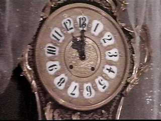 The sound of a striking clock reminds Sarah that she needs to save her brother, sarah frees herself from the vision