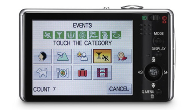 Touch Screen Camera