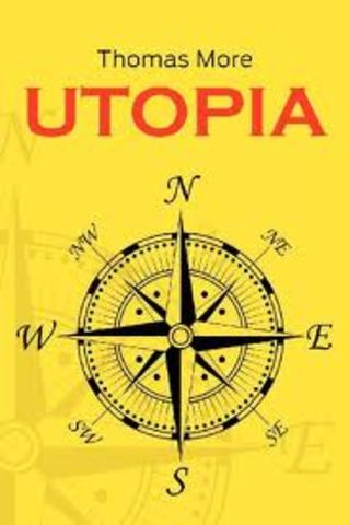 Thomas mores utopia is published