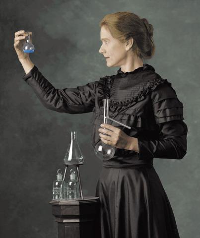Marie Curie isolated radium.