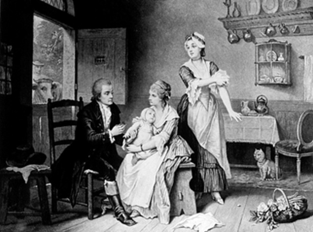 Edward Jenner developed a vaccine for smallpox.