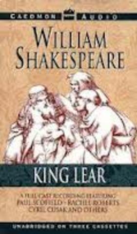 Shakespeare writes King Lear and Macbeth 1605-1606