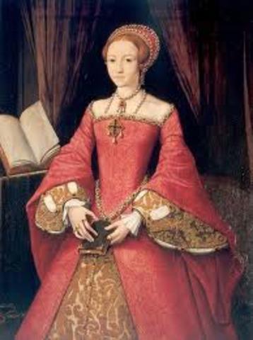 Elizabeth I becomes Queen of England