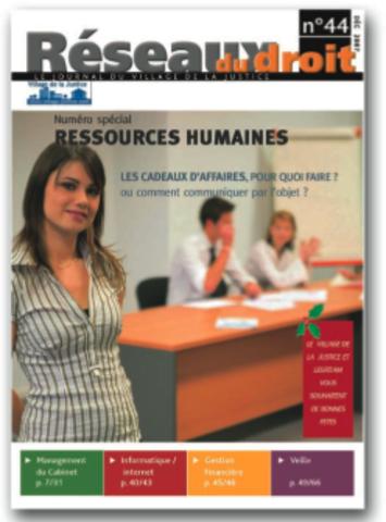 Lancement de Réseaux du Droit, la revue