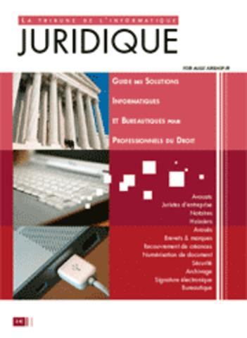 Lancement de la Tribune de l'informatique juridique