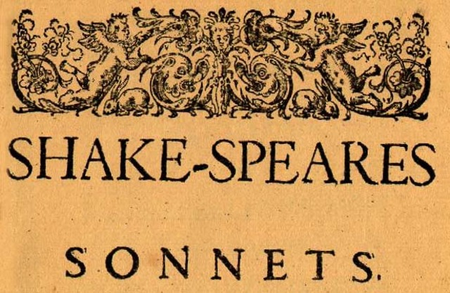 shakespeare publishes sonnets.
