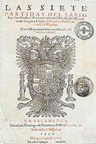 Las siete Partidas (Alfonso X el Sabio)