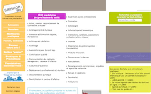 Lancement de Jurishop.fr