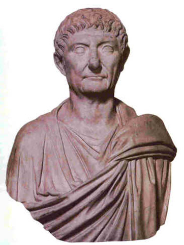 Diocletian Gave Up Power