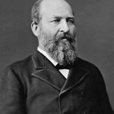 James A. Garfield timeline