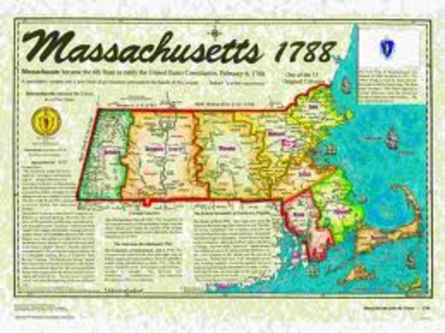 Massachusetts Ratifies the Constitution