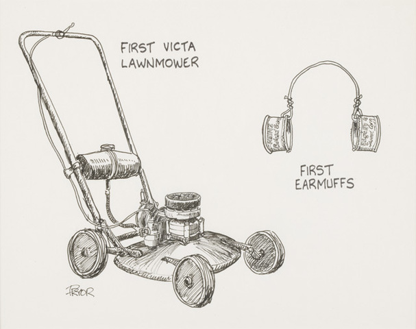 First Victa mower
