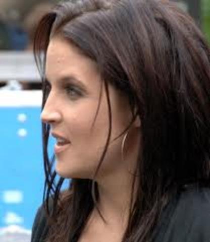 Gifter sig med Lisa Marie Presley