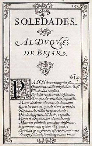 Soledades ( Luís de Góngora)