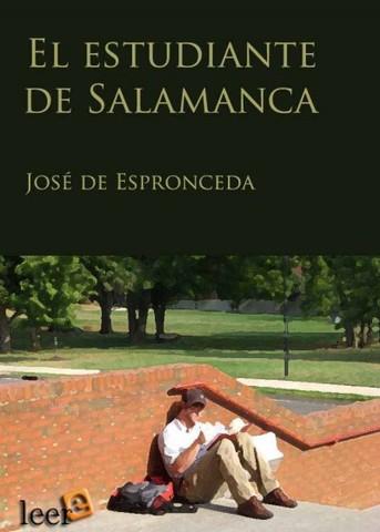 El estudiante de salamanca (Jose de Espronceda )