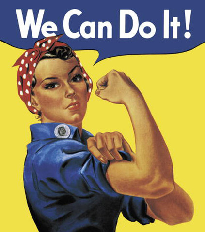 """""""Rosie the Riveter"""" cont."""