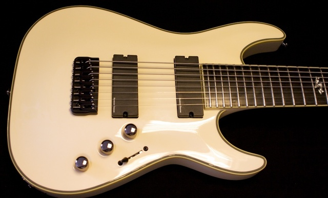 Schecter creates the first 8 string electric guitar