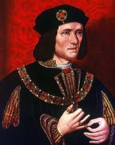 1485 Richard III is killed in battle