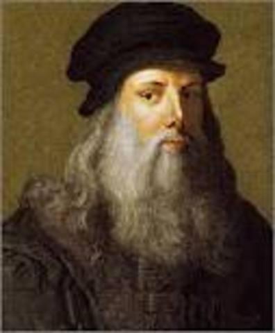 c. 1503 Leonardo da Vinci paints the Mona Lisa