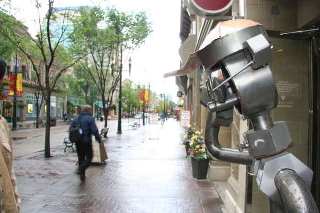 Robots On The Streets