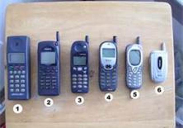 THE CELLULAR PHONES