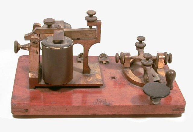Telegráfico a base en Galvanómetros