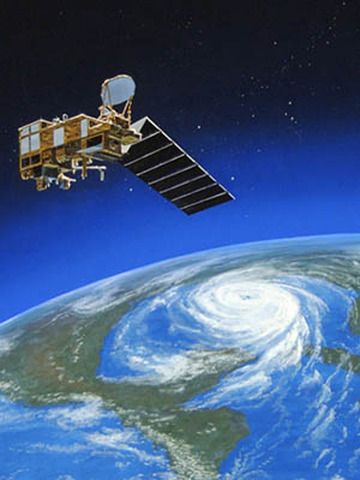 first improved satellite launched