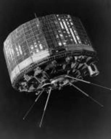 The world's first meteorological satellite