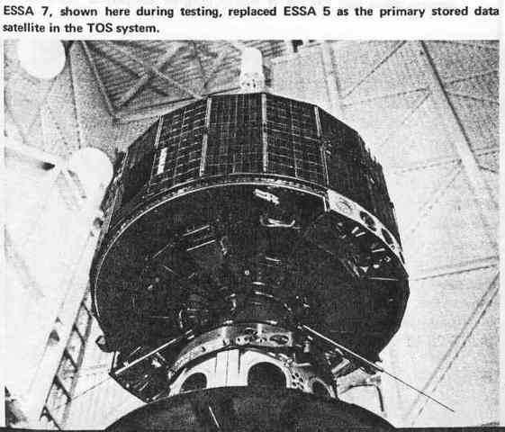 The Last ESSA Satellite is Launched