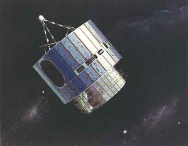 Two Synchronous Meteorological Satellites (SMS) are launched by NASA