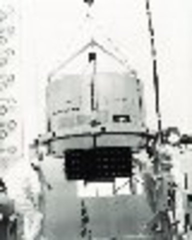 The First GOES Satellite is Launched