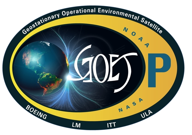 GOES-P spacecraft loaded
