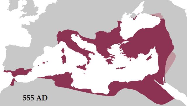 The Byzantine Empire Begins