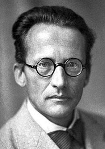 Erwin Schrodinger 1926