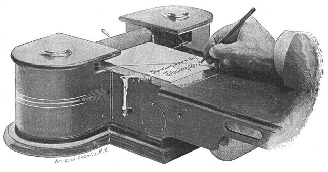 Telautograph 1888