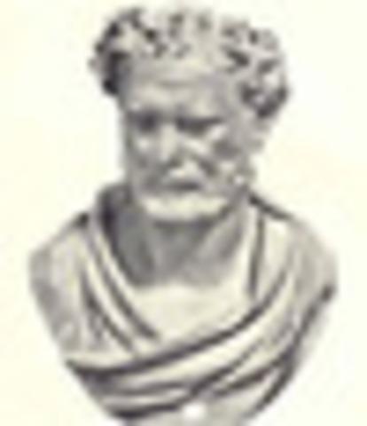 Democritus circa 470 BC