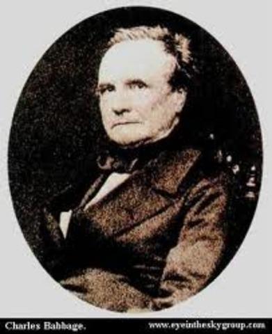 Charles Babbage describe la máquina analítica.