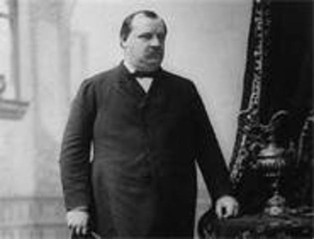 Grover Cleveland takes office as POTUS (for the second time)