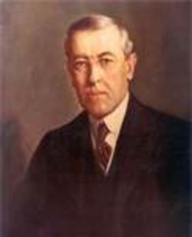 March 4, 1913 – Woodrow Wilson takes office as POTUS