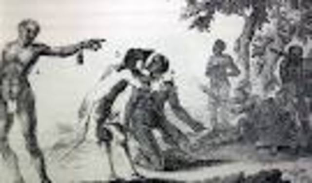First African slaves begin to be brought across the Atlantic to New Spain