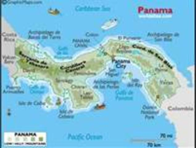 Vasco Nunez de Balboa is first European to see the Pacific Ocean, after crossing the isthmus of Panama