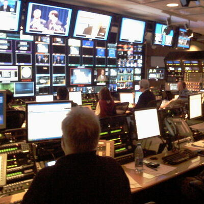 News Broadcasting timeline