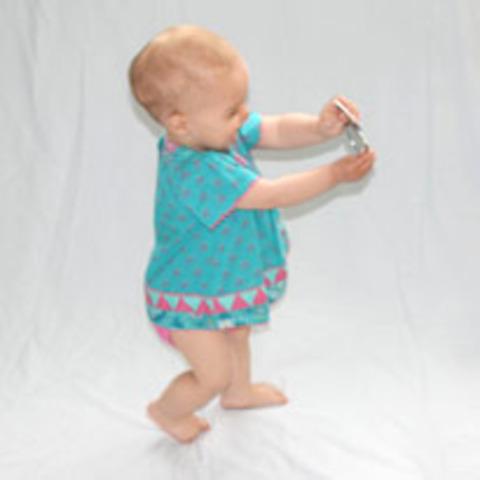 Child can begin walking