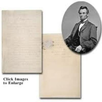 Abraham Lincoln and the Emacipation Proclamation timeline