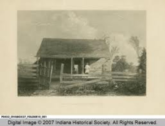 Thomas Spencer moves his family to Spencer County Indiana